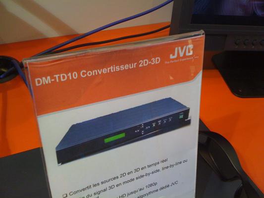 JVC DM-TD10 2D-to-3D live converter (1)