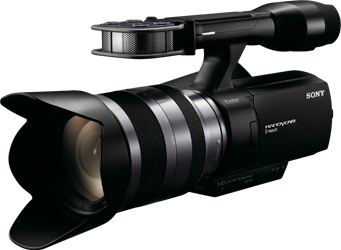 Sony NEX-VG10 high-definition APS-C camcorder